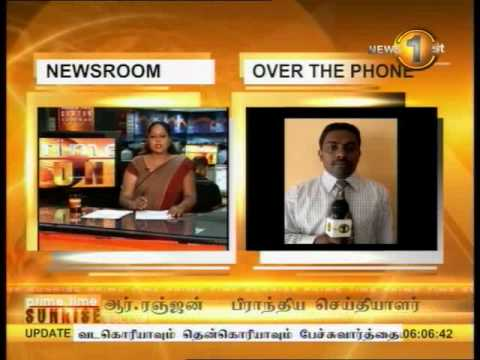 SHAKTHI BREAKFAST news 1st - 13-02-2014 - 6 am