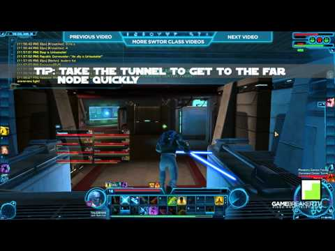 ★ Star Wars: The Old Republic - Taugrim Talks PVP - Jedi Knight Sentinel