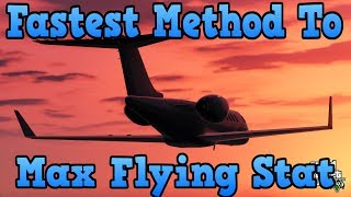"""GTA 5 Online"" Fastest Max Flying Stat Tutorial! ( ""Grand"