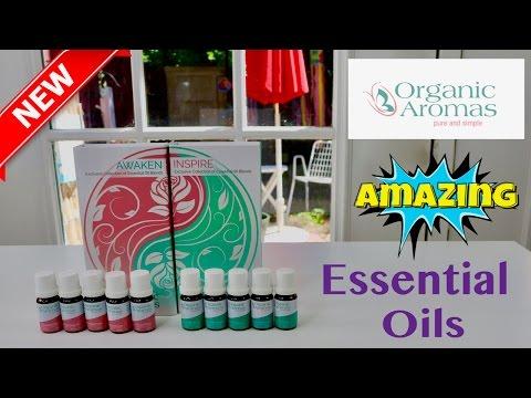 😍 ORGANIC AROMAS Essential Oil Set - REVIEW ✅