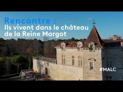 Rencontre : ils vivent dans le château de la Reine Margot