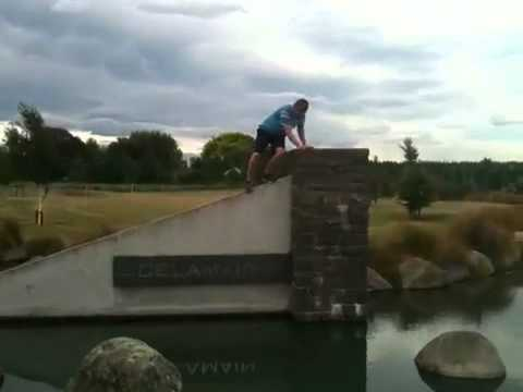 Geocaching Water Hazard & Parkour Landing