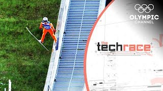 The Ski Jumping Tech for Training without Snow | The Tech Race