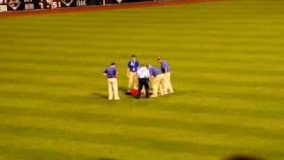 Philadelphia Police Tasers Baseball Fan