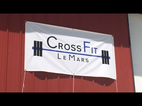 Digital Exclusive: New CrossFit gym opens up in Le Mars during pandemic