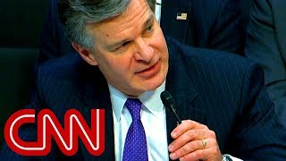 Wray: FBI won't share investigation with Trump