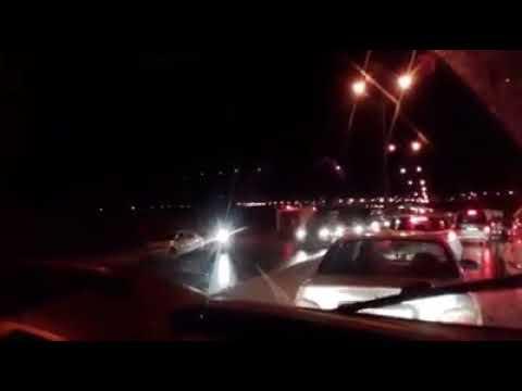 حادثة سير مروعة على الطريق السريعة الجديدة