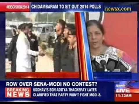 BJP hits out at 'scared' P Chidambaram