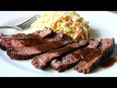 Grilled Coffee & Cola Skirt Steak Recipe