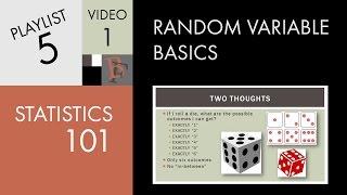 Statistics 101: Random Variable Basics