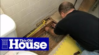 How To Install A Towel Warmer This Old House