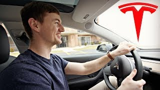 Driving the Tesla Model 3 - My Experience!