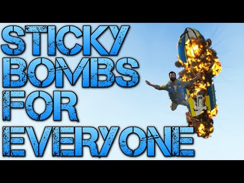 Grand Theft Auto V | STICKY BOMBS FOR EVERYONE
