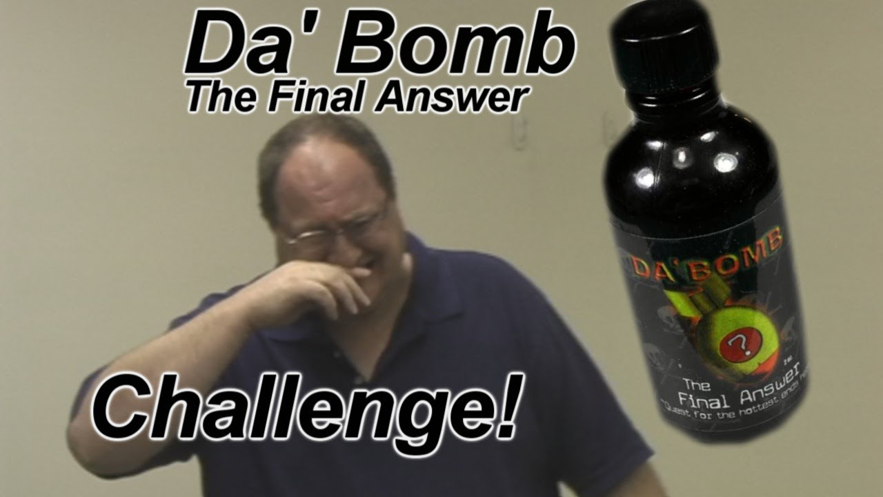 Da Bomb The Final Answer Hot Sauce Challenge Youtube