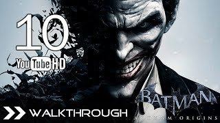 Batman Arkham Origins Walkthrough Gameplay Part 10