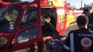 Mais imagens do resgate de piloto na MG-010