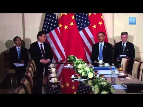 Obama Meets China's President Xi Jinping