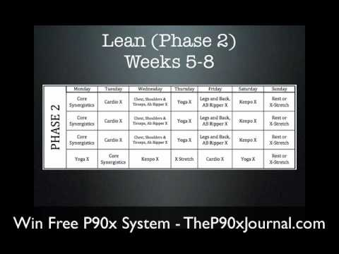 P90x Workout Schedule - What is P90x? Find Out What to Expect ...