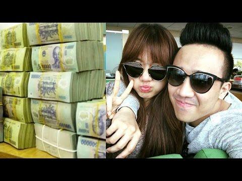 Choáng với số tiền mà vợ chồng Trấn Thành và Hari Won kiếm được trong 1 năm