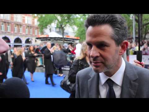 Simon Kinberg Talks 'X-Men Days Of Future Past' At The UK Premiere, May 2014