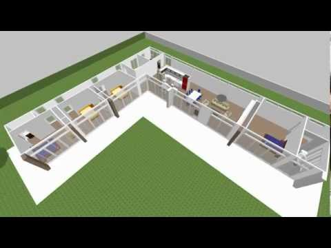 My insulliving project first in nz sweet home 3d for Sweet home 3d arredamento