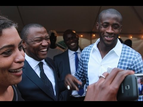"""ALLOCO COCKTAIL"" WITH SPORTS IDOL, YAYA TOURE"