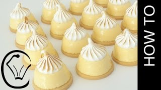 Mini Lime Curd Meringue Tarts by Cupcake Savvy's Kitchen