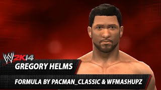 WWE 2K14: Gregory Helms CAW Formula By Pacman Classic