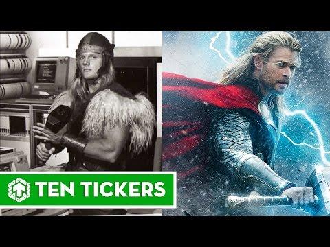 Thor Through Years 1988, 2011, 2012, 2013, 2015