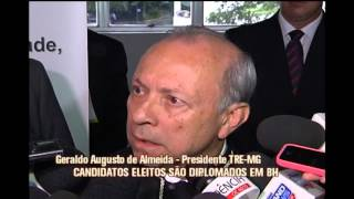 Candidatos eleitos por Minas s�o diplomatos em Belo Horizonte