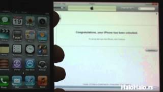 iPhone 4 dekodiranje preko iTunes-a