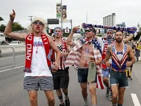 Crazy US  Fans Head to Brazil for USA vs Portugal #World Cup 2014 News