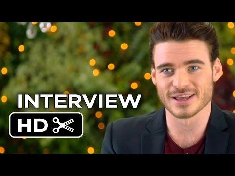 Cinderella Interview - Richard Madden (2015) - Lily James Movie HD