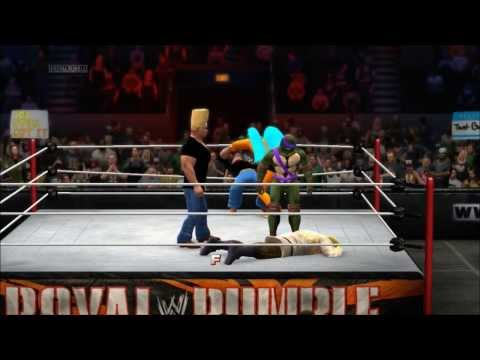 WWE 2K14 40-Man Cartoon Royal Rumble Part 2