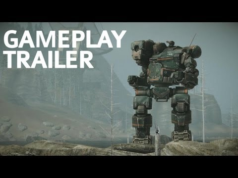 MechWarrior Online GDC 2012 Gameplay Trailer