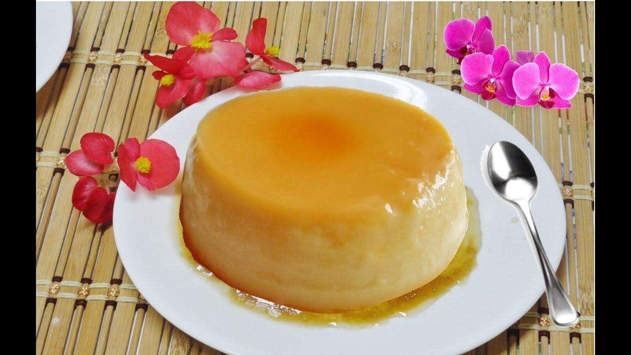 Fast Flan Video Recipe by Bhavna - Homemade Caramel Custard or Cream ...