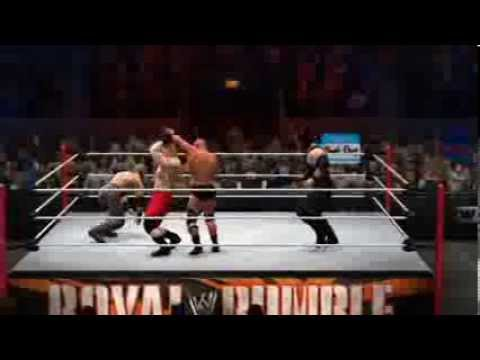 WWE 2K14 - 40 Man Royal Rumble Match