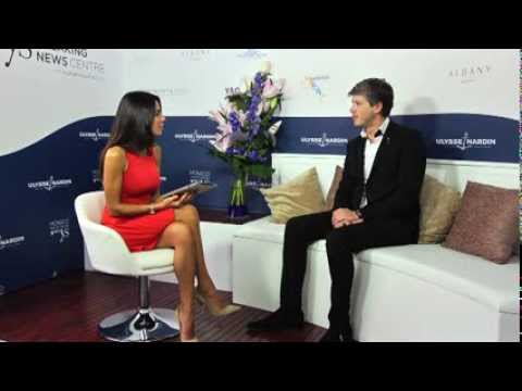 Breaking News Centre Interview: Erwin Bamps discusses the Majesty 155 at the Monaco Yacht Show 2013