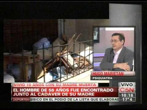 C5N - POLICIALES: VIVIO DIEZ AÑOS CON SU MADRE MUERTA
