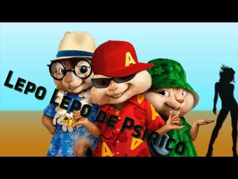 Alvin E Os Esquilos Cantando Lepo Lepo  Psirico (oficial) 2014