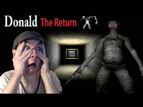 Donald the Return | KILL ME.... | Indie Horror Game | Commentary/Face cam reaction