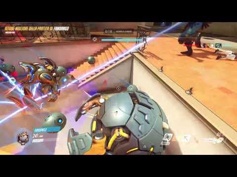 Overwatch gameplay short video of replay