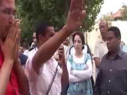 الوقفة الاحتجاجية لسكان الدور الآيلة للسقوط بآزرو