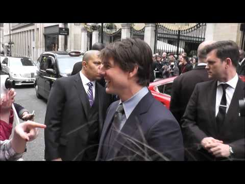 Tom Cruise in London