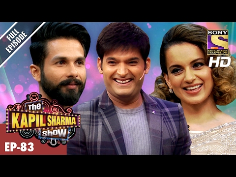 The Kapil Sharma Show  दी कपिल शर्मा शो Ep83  Shahid And Kangana In Kapils Show –19th Feb 2017