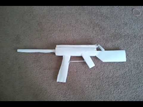 how to make a paper gun that shoots easy