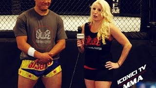 Pat Barry Interview Iconici Tv MMA