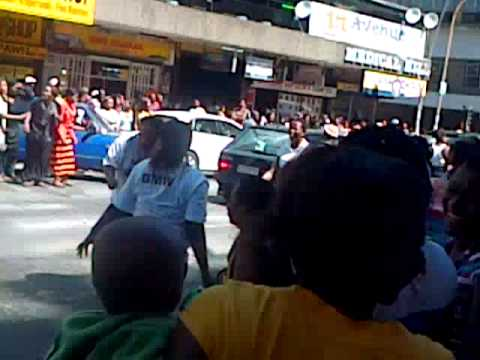 prostitutes's celebration in hillbrow jhb SA