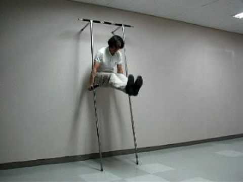 Semi Anytube Tower Portable Chin Up Pull Ups Iron Gym Bar