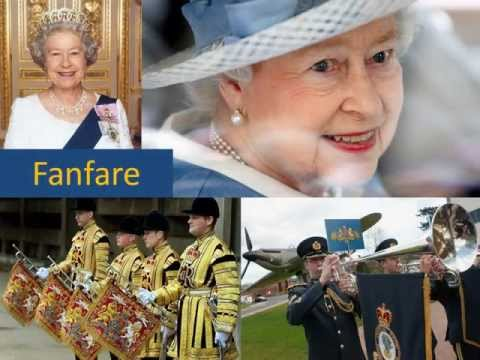 The British National Anthem, God Save the Queen (with timed lyrics)